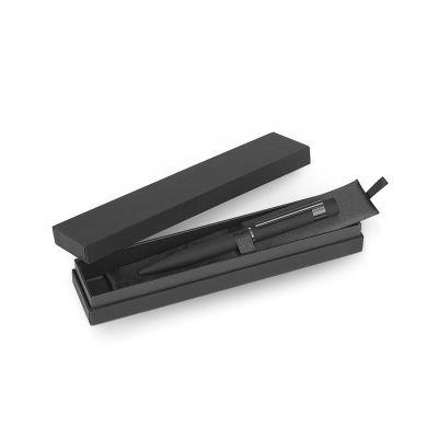 NAVIGATOR, metal ball pen in gift box, black