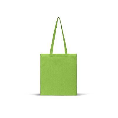 NATURELLA COLOR 130, cotton shopping bag, 130 g/m2, kiwi