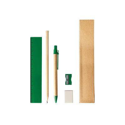 CLASS, stationery set, green