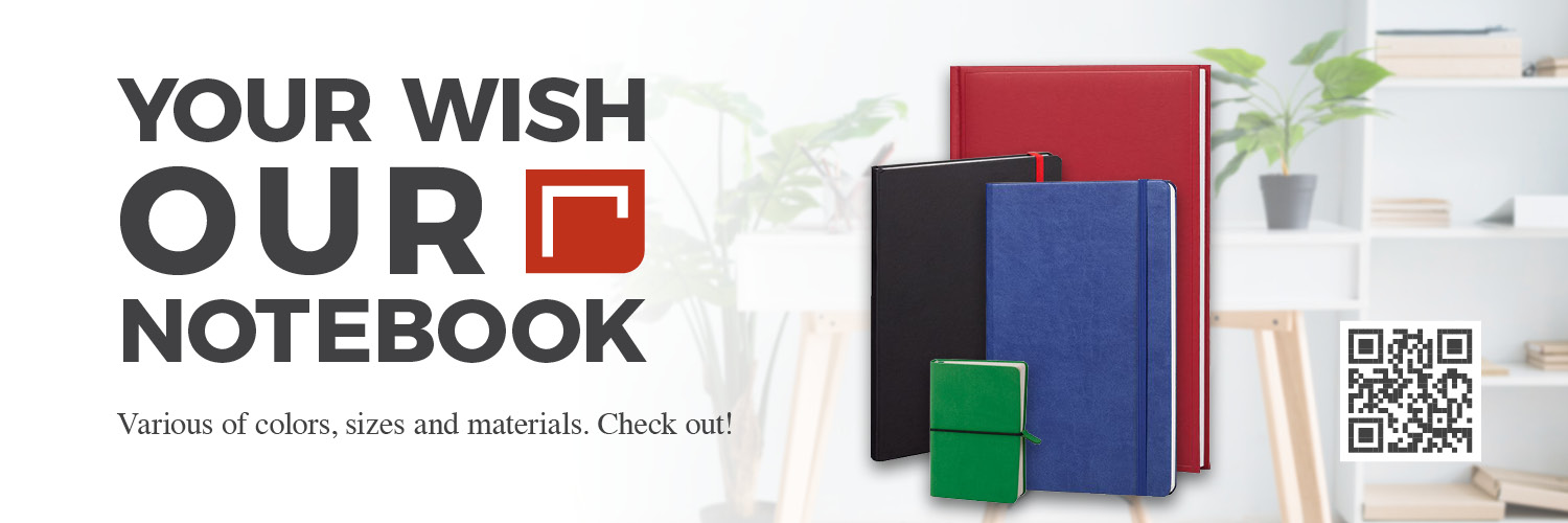 Your wish, our notebook